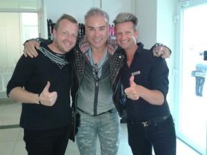 Musicalstar Uwe Kroeger jetzt Platin-Blond!